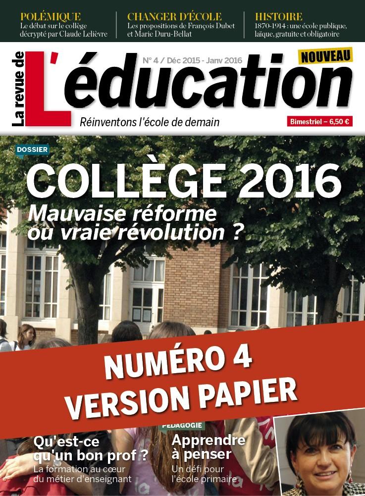 Numéro 4 - version papier